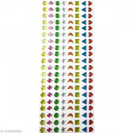 Strass autocollant enfant Bijoux multicolores 7 mm x 320 http://www.creavea.com/strass-autocollant-enfant-bijoux-multicolores-7-mm-x-320_boutique-acheter-loisirs-creatifs_31172.html