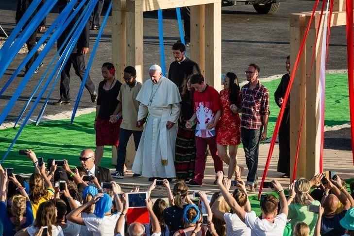 Discours pape François Chemin Croix - JMJ Cracovie