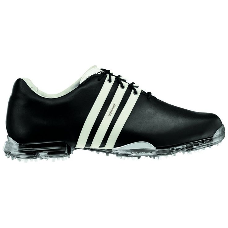 Created for the competitive purist, the Adidas AdiPURE is a modern expression of classic golf shoe design combined with tour-proven technologies. These shoes are constructed with the finest materials