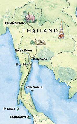 Circuits en Thaïlande