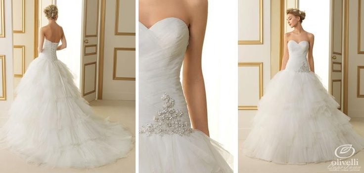 The Rosa Clara 2013 range is here, including the Torino dress from their Luna Novias collection. We... pinned with Pinvolve