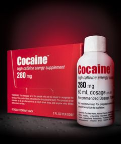 Cocaine. strong medicinal taste of its competitors (such as 5-Hour Energy) while providing even better, more consistent all-day energy.