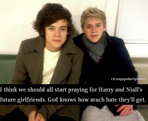 Yeah, unfortunately it'll be bad... Lets hope I can handle the hate from being Niall's girlfriend...