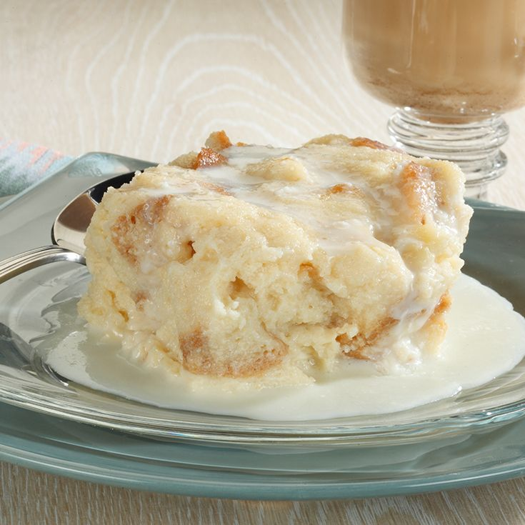 White Chocolate Bread Pudding - A sweet recipe you can't get enough of. #DairyAmazing