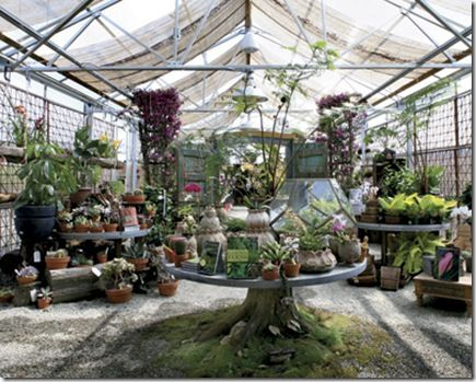 Terrain. Glen Mills, PA. The greenhouse owned by Anthropologie!