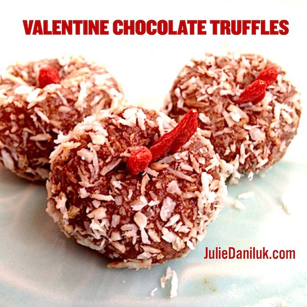 Valentine Chocolate Truffles