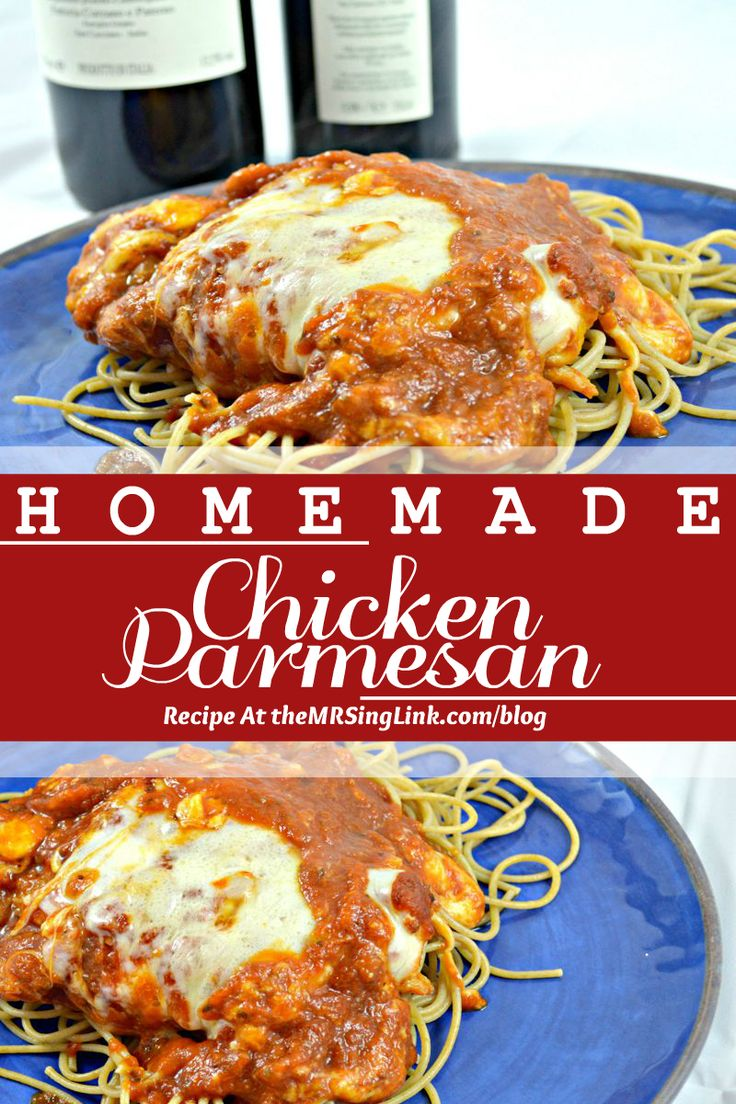 Best Homemade Chicken Parmesan | theMRSingLink Blog | #italianfood #chickenparmesan #recipes #homemade