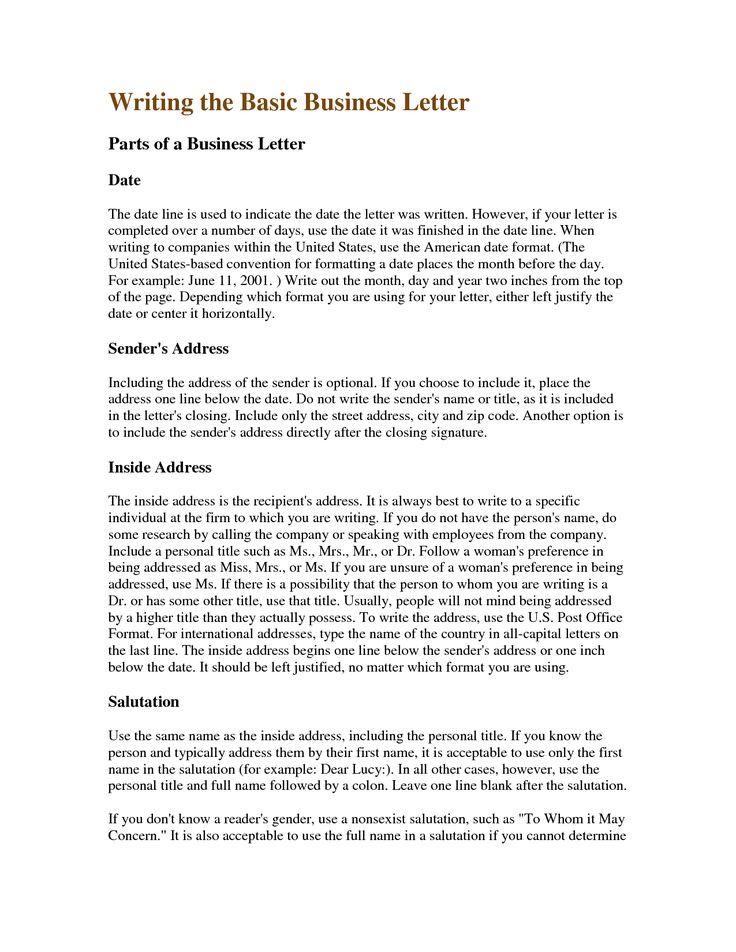 25+ melhores ideias de Business letter format example no Pinterest - letter of personal apology