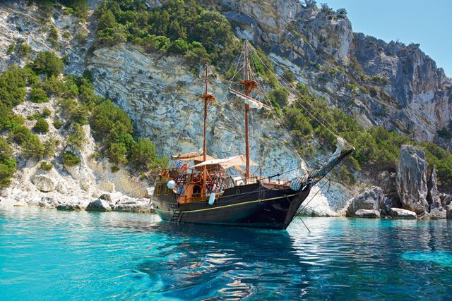 Croisière Croisière Rivages Ioniens en Caïque depuis Corfou - Croisière dans les Cyclades avec Héliades #Grèce #Cyclades #Santorin #Caïque #Corfou