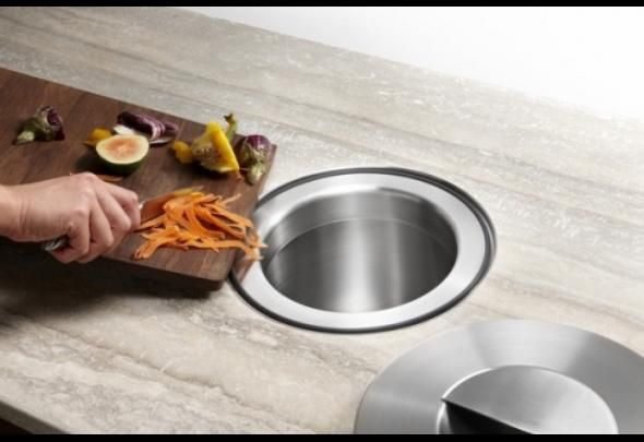 No Garbage On Floor : Why not a hole in your floor for dirt no dust pan just