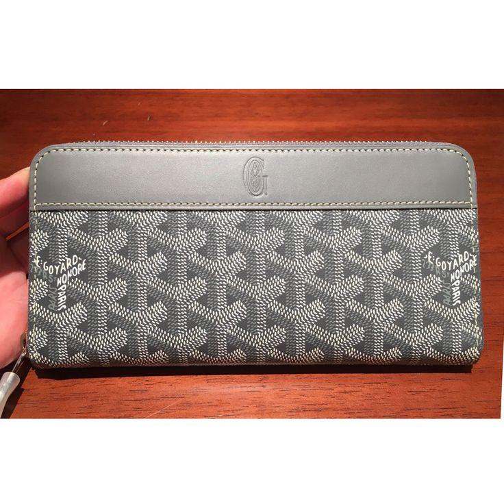 Goyard long wallet large zip around each color and GOYARD - BUYMA