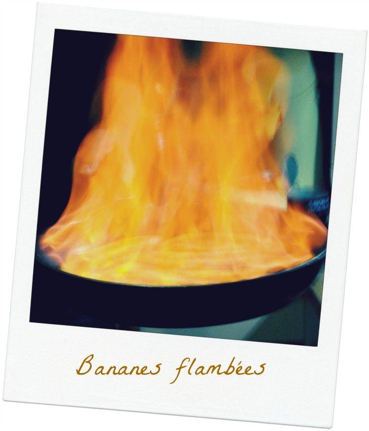 Bananes flambees vue 1