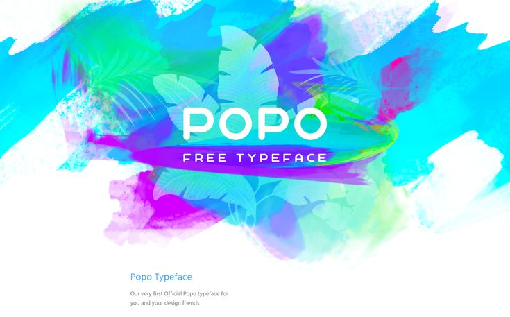 Popo - Free Font on Behance
