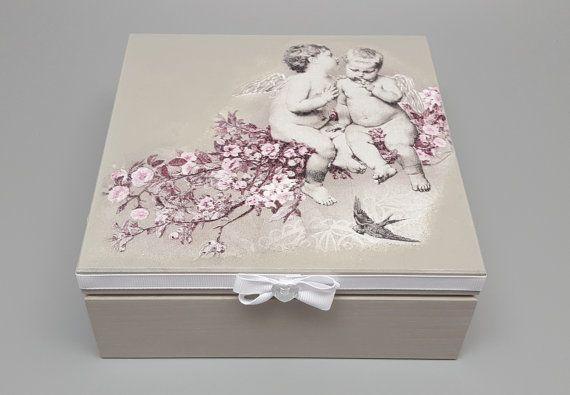 personalized wooden box decoupage box decorated box