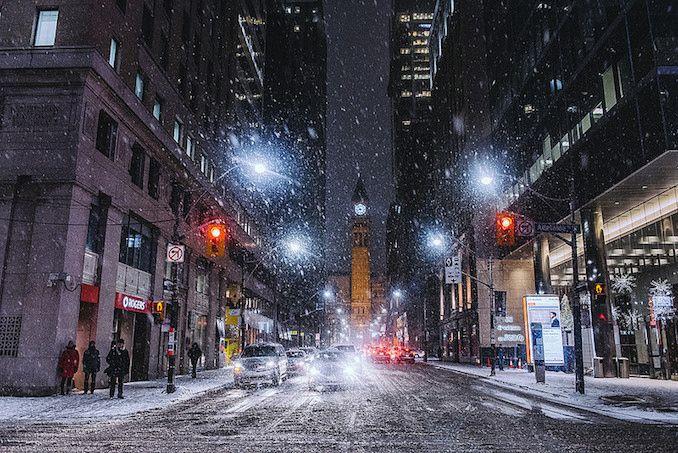 """Winter Wonderland"" by Toronto Photographer Hannah Jor"
