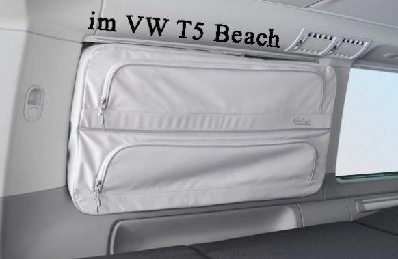 Fenstertaschen T5 California – Beach und Multivan Packtaschen VW T5/T6 Wohin mit den T-Shirts? – Wo ist das Duschgel? – Warum ist meine Badehose im Kofferraum? wo ist mein Buch?, mein Handy?, mein Kindle… wir haben die Lösung. Die originale … Weiter