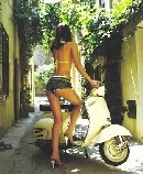 Italian passion; Vespa and love
