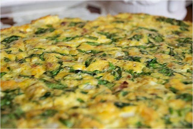 Heathy Crustless Breakfast Quiche
