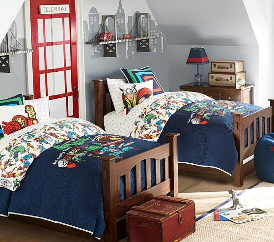 Marvel Quilt Bedroom Diy Boys Bedrooms Toddler Boys Room