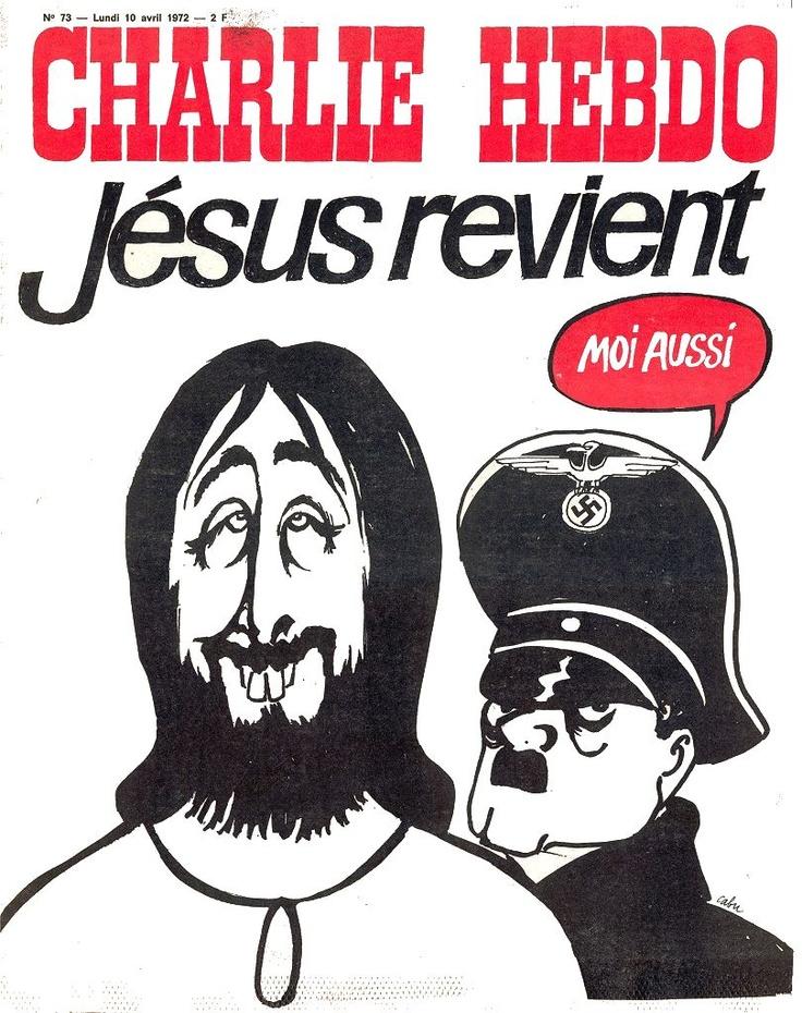 CHARLIE HEBDO 1972.