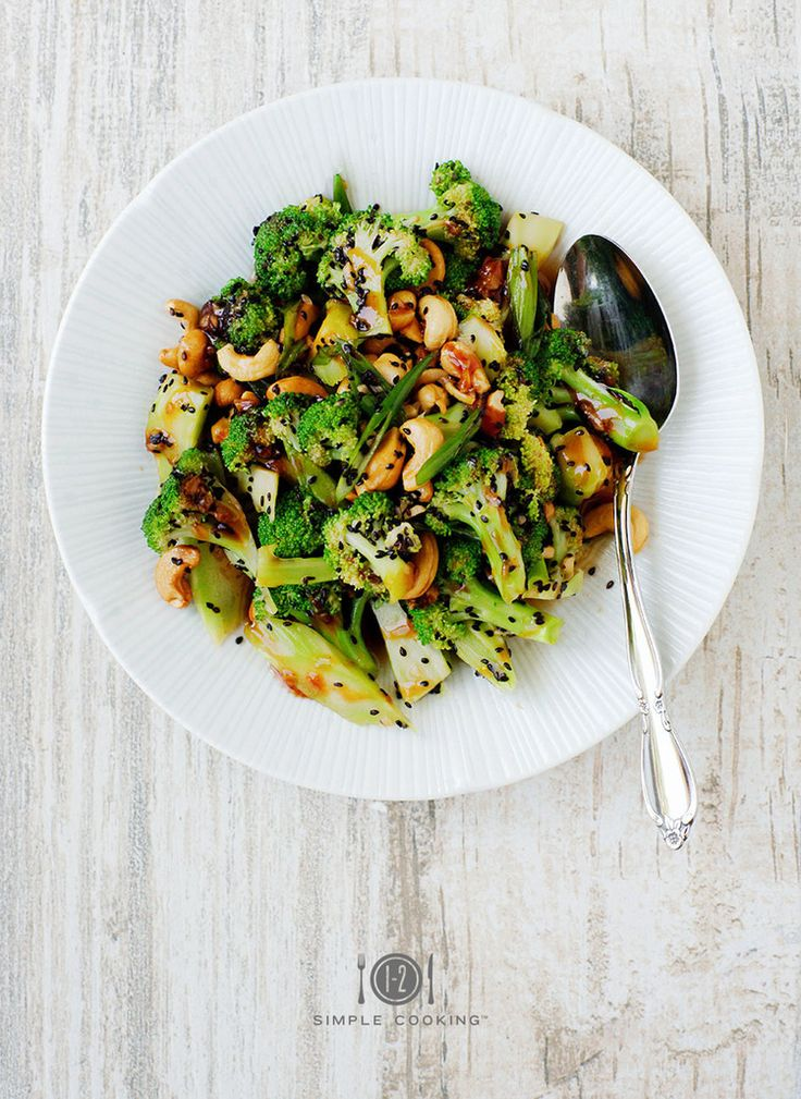 SWEET AND SOUR BROCCOLI SALAD — 1-2 Simple Cooking