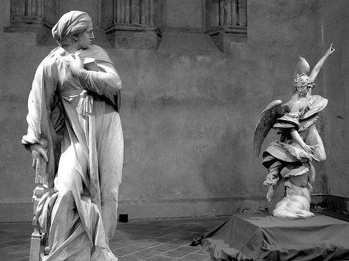 Francesco Mochi, Annunciazione, 1605-08, Museo dell'Opera del Duomo, Orvieto