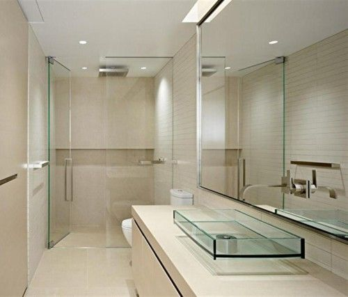 Bathroom the nice design of small modern bathrooms with for Nice small bathrooms