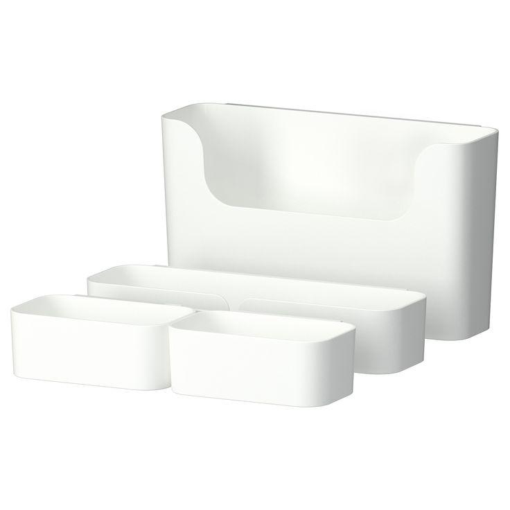 PLUGGIS Contenitore con binario, 7 pezzi - IKEA