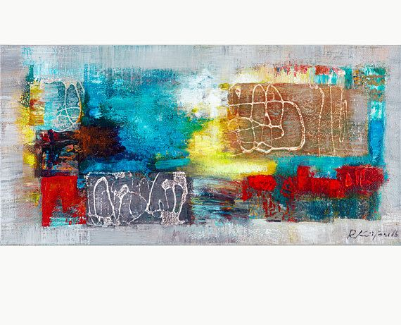 Large Wall Art Canvas Prints Abstract Art Morning joy Rolands