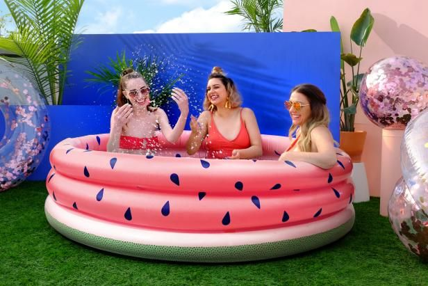 Throw A Pool Party Anywhere With These Cute Adult Sized Inflatable Pools From Target Inflatable Pool Target Halloween Adult Inflatable Pool