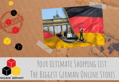 The Ultimate Shopping List: The 20 Biggest German Online Shops #english #englisch #business #mailbox #germany #logistics #infrastructure