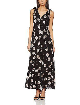 10, Blue, Springfield Women's 3.Pa.Vestido Largo Flores Casual Dress NEW