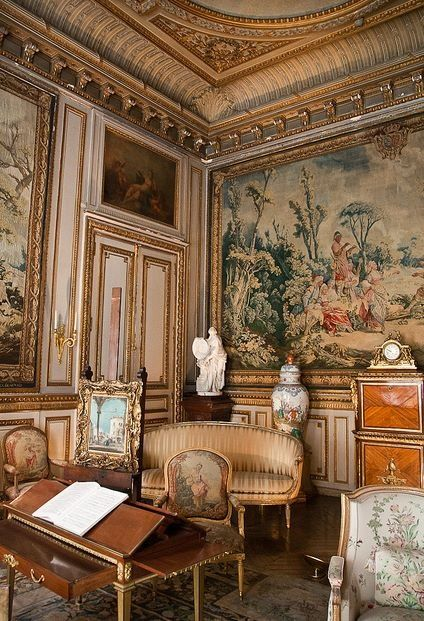 SALON MUSÉE JACQUEMART ANDRÉ 158 Boulevard Haussmann, Paris 8ē ~ An elegant museum in a former hôtel particulier with an important collection French decorative arts of the 18th century.