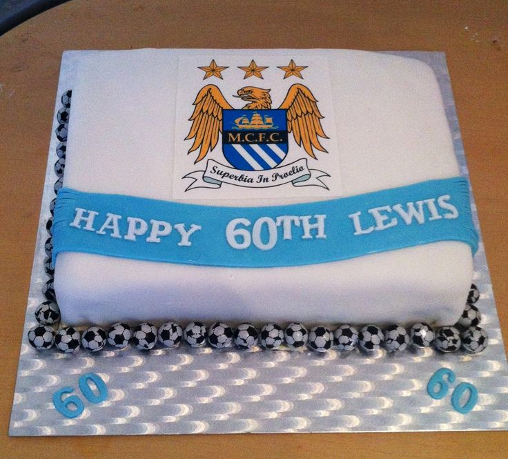 20 best Man city cake images on Pinterest | City cake ...