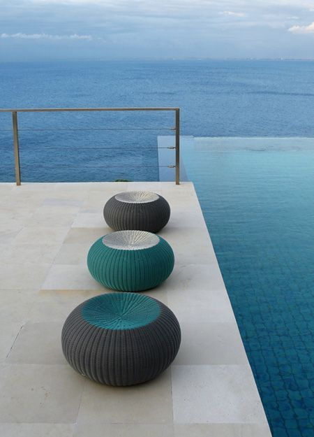 Spinball Outdoor Stools : Lebello.com