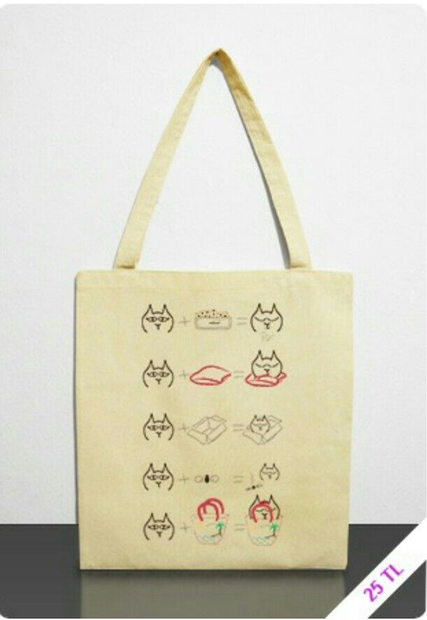 Catology nin çanta hali! http://www.basmatik.com/gogoyk/i/3615?type=shoppingbag