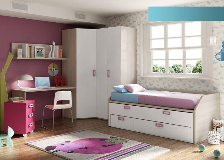 #DormitorioJuvenil | Cuando tus hijos llegan a determinada edad necesitan su propio espacio un lugar donde se puedan sentir cómodos para dormir pero también para estudiar o disfrutar de sus hobbies. Por eso es importante amueblar el dormitorio de acuerdo a su gusto.