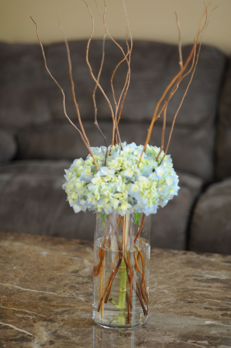 23 best willows images on pinterest wedding bouquets for Floral arrangements with branches