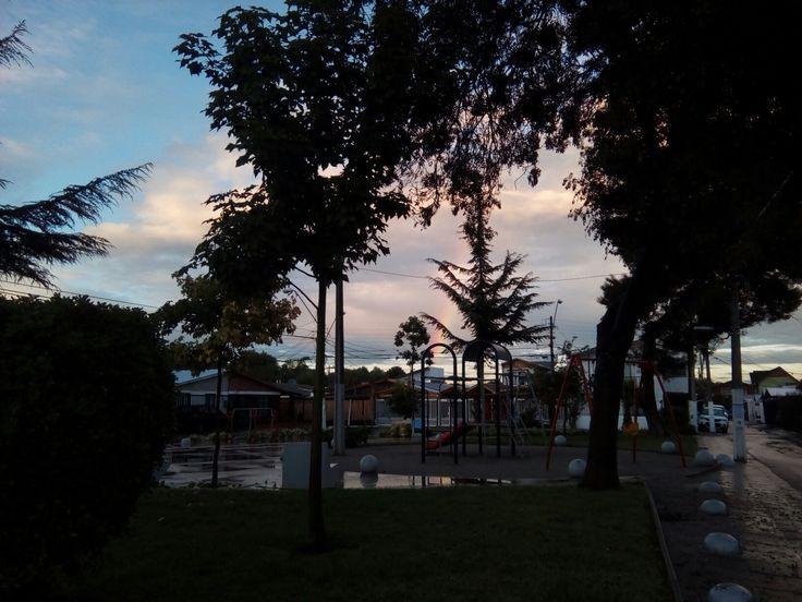 Amanecer en Maipu, Chile