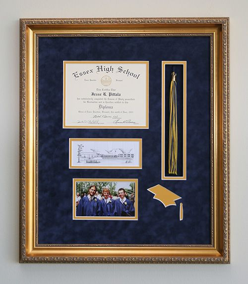 Graduation tassels, diploma and photos make an exceptional gift for the student in your family.