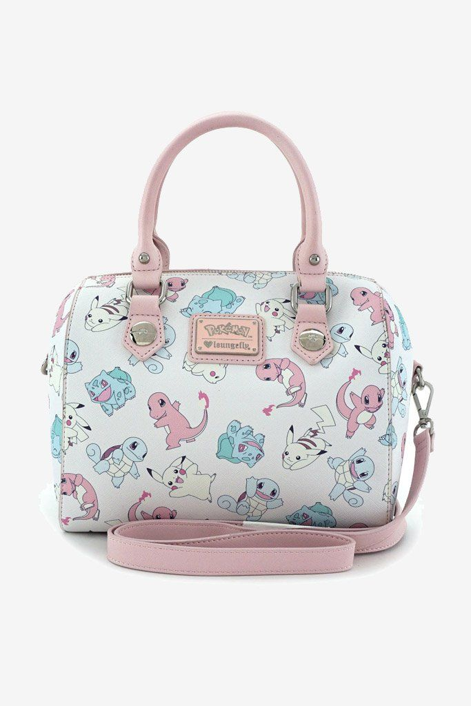 Loungefly x Pokemon Starters Pastel Duffle Bag - Smoko Inc  f62671c56ed28