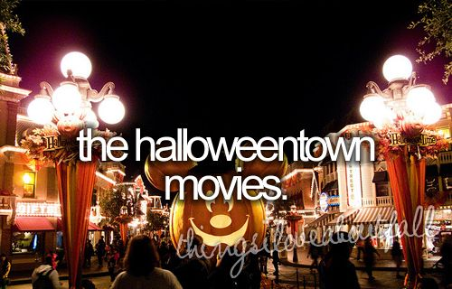 things i love about fall - the halloweentown movies