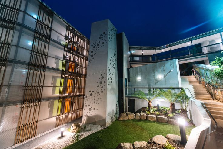 Trinity Hills Complex in Hobart uses Kaynemaile mesh facade system