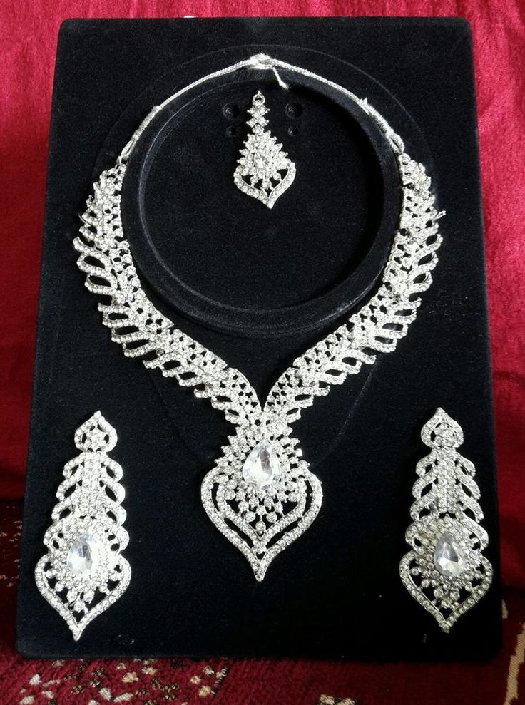 Noorschmuck Bollywood schmuck set indian jewellery set hochzeit Braut Party set in Uhren & Schmuck, Modeschmuck, Halsketten & Anhänger   eBay