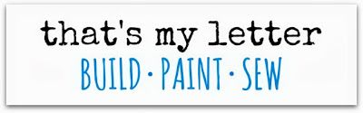 Easy way to paint letters perfectly.... def can use this in our home