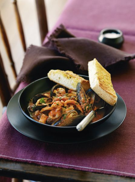 Spanish Seafood Stew. Add some spice to your seafood favourites! #Woolworths #recipe #seafood  http://www.woolworths.com.au/wps/wcm/connect/Website/Woolworths/FreshFoodIdeas/Recipes/Recipes-Content/Spanish-seafood-stew