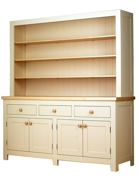 large English kitchen dresser in Farrow  Ball Matchstick i really want this