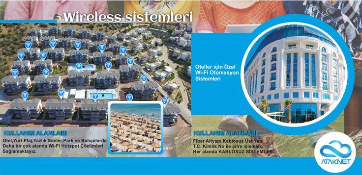 Otel,Yurt,Plaj,Yazlık Siteler,Park ve Bahçelerde Daha bir çok alanda Wi-Fi Hotspot Çözümleri Sağlıyoruz. www.ataknet.com.tr | 0850 532 79 85