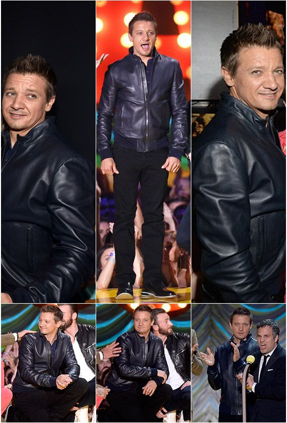 Jeremy Renner The Avengers 2015 Leather Jacket