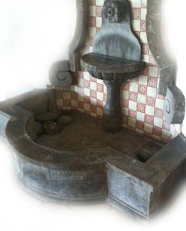 Cantera Wall Fountain Tiles Water Features Fountain